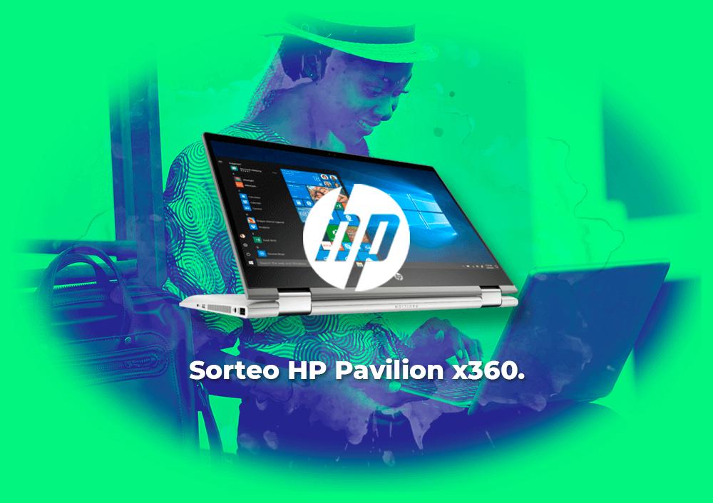 Sorteo Portátil táctil Convertible HP Pavilion x360