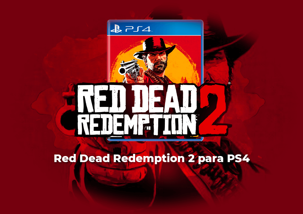 Sorteo Red Dead Redemption 2 PS4