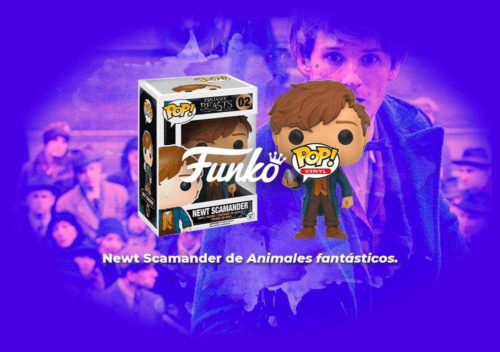 Sorteo Funko Pop de Animales fantásticos.