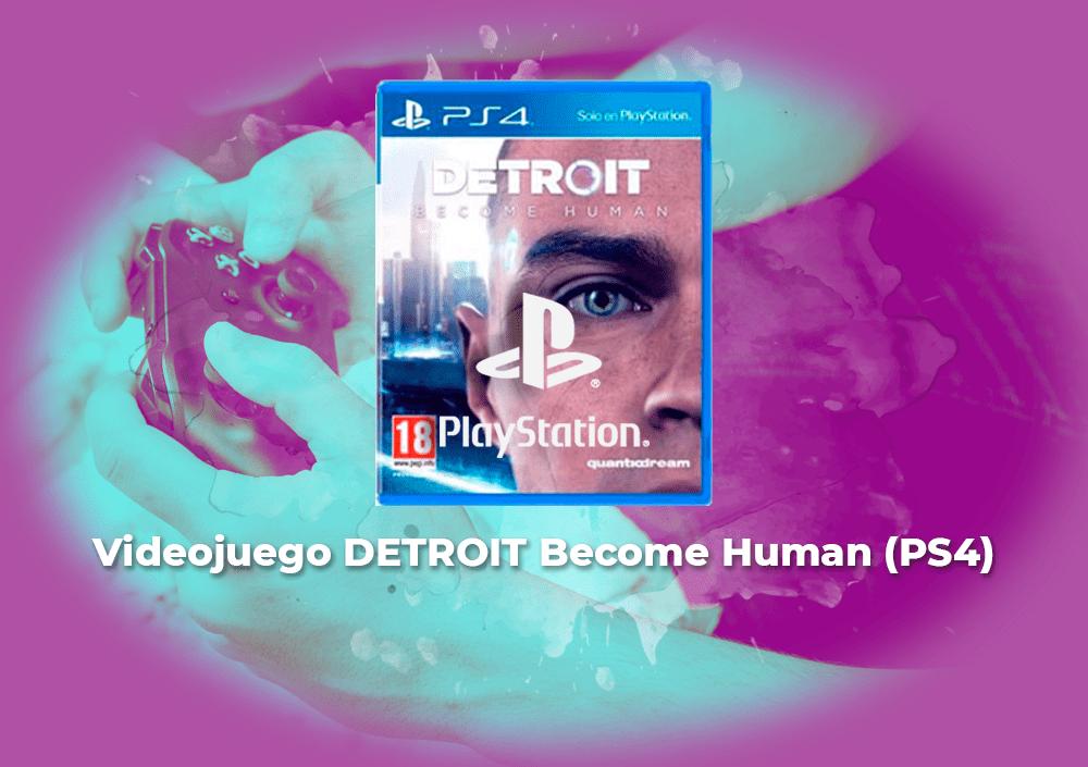 Sorteo Videojuego DETROIT Become Human (PS4)