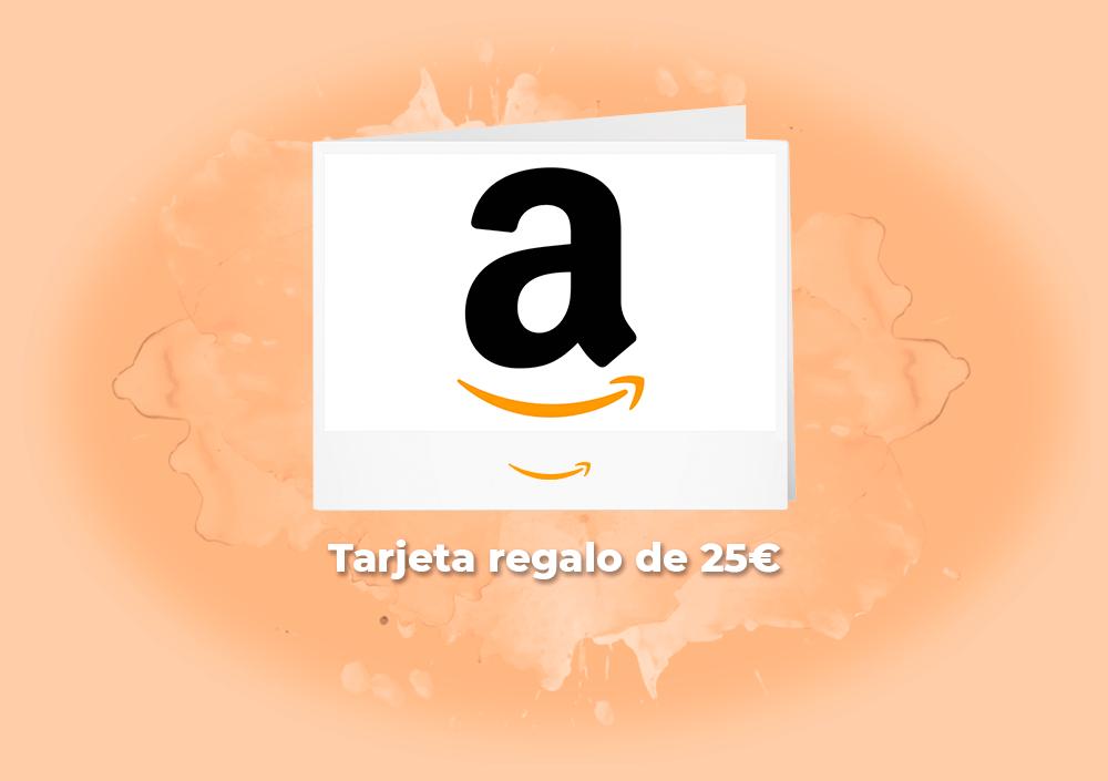 Sorteo tarjeta regalo 25€ de Amazon!