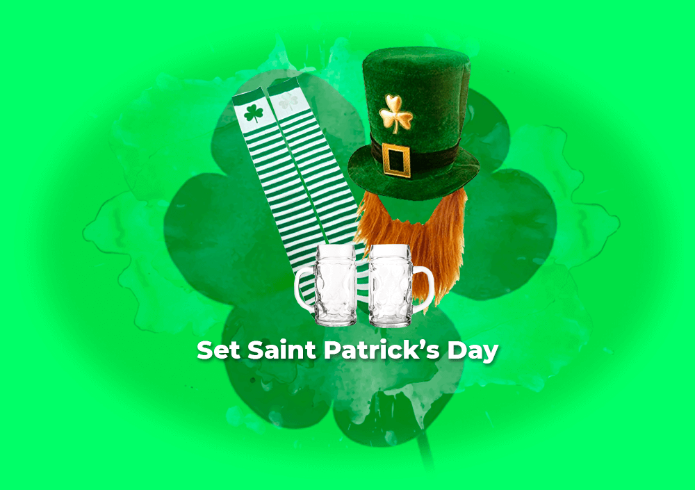 Sorteo Set Saint Patrick's Day