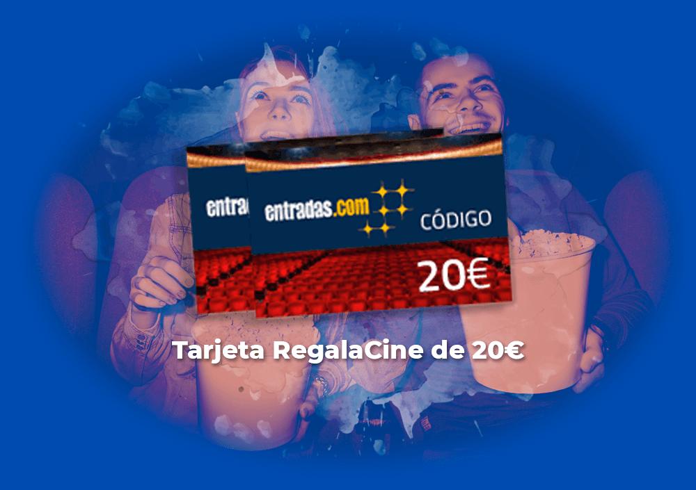 Sorteo tarjeta RegalaCine de 20€