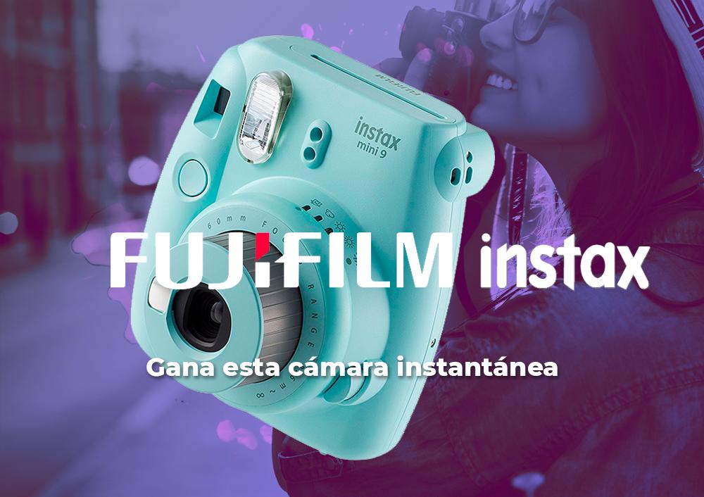 Sorteo Fujifilm Instax Mini 9