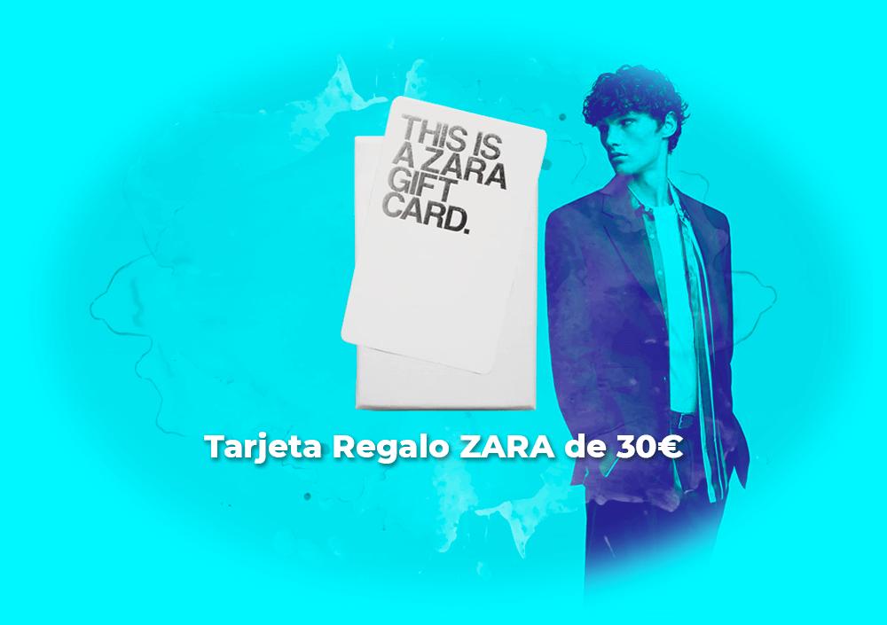 Sorteo tarjeta regalo ZARA de 30€