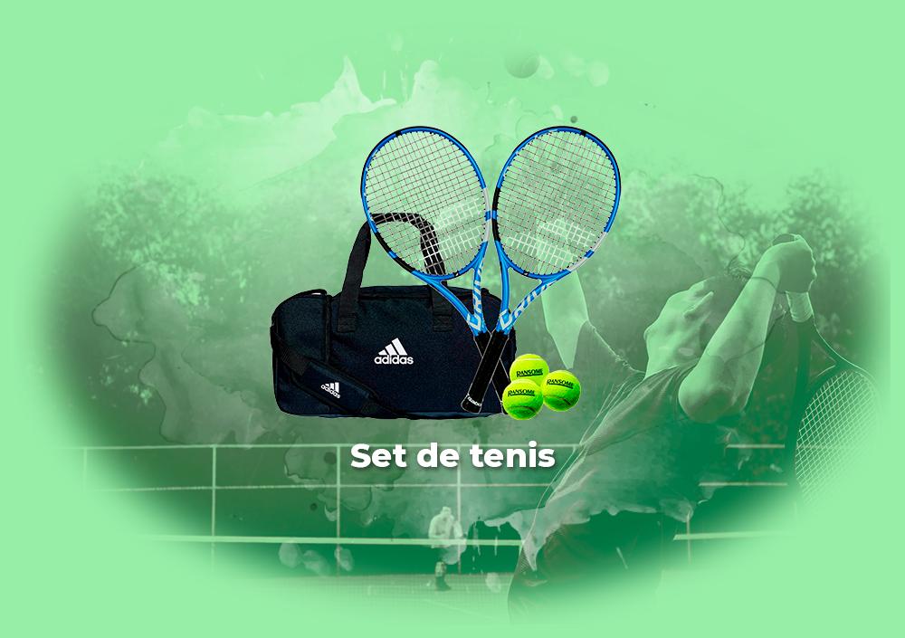 Sorteo Set de tenis