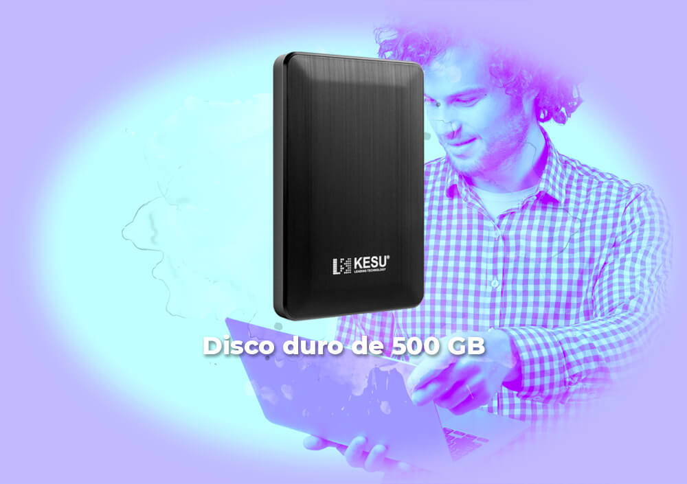 Sorteo Kesu disco duro 500 GB