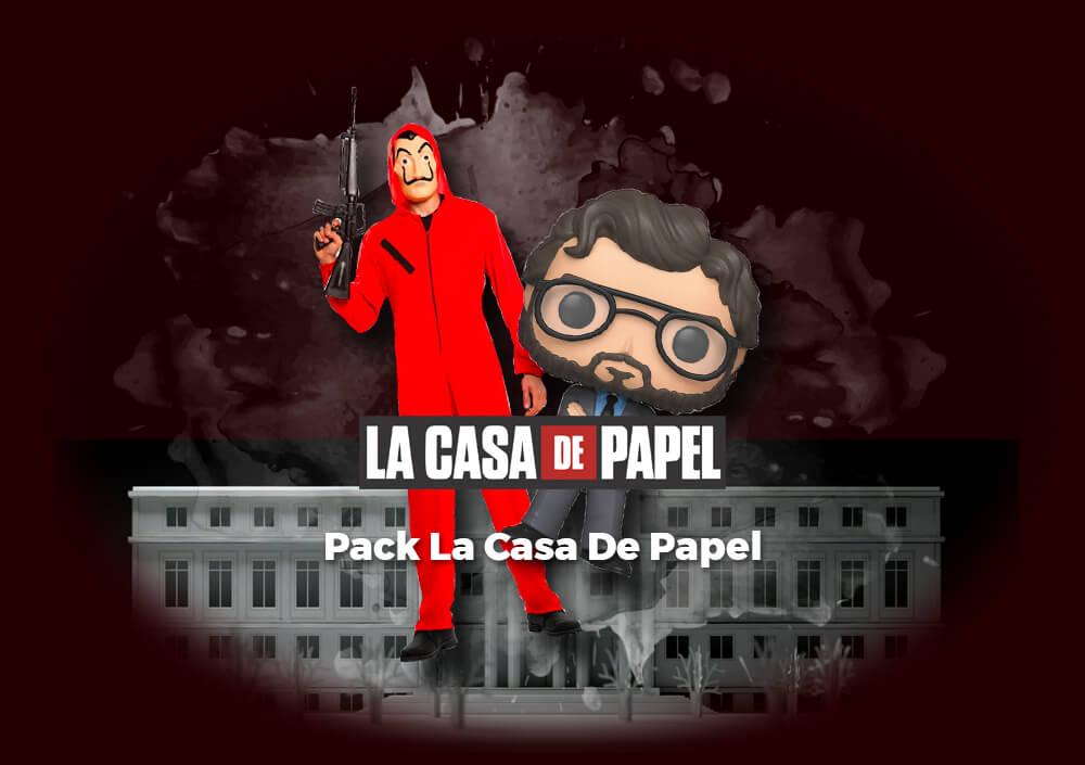 Sorteo Pack La Casa De Papel