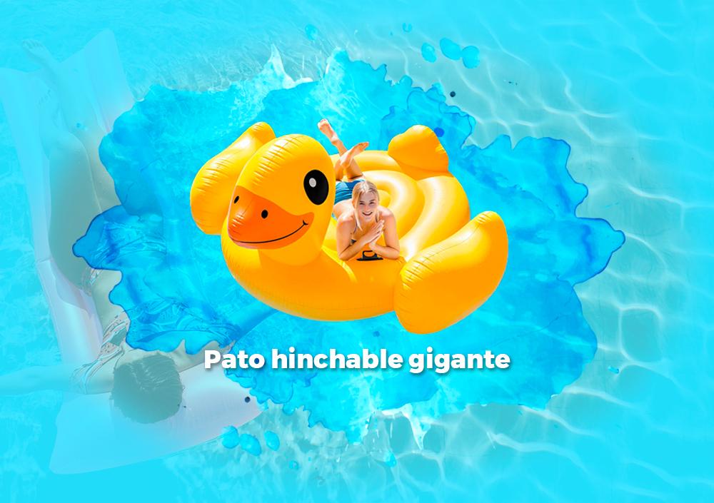 Sorteo Pato hinchable gigante