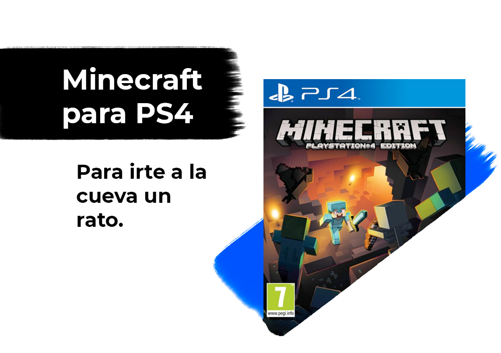 Sorteo Minecraft PS4 Edition