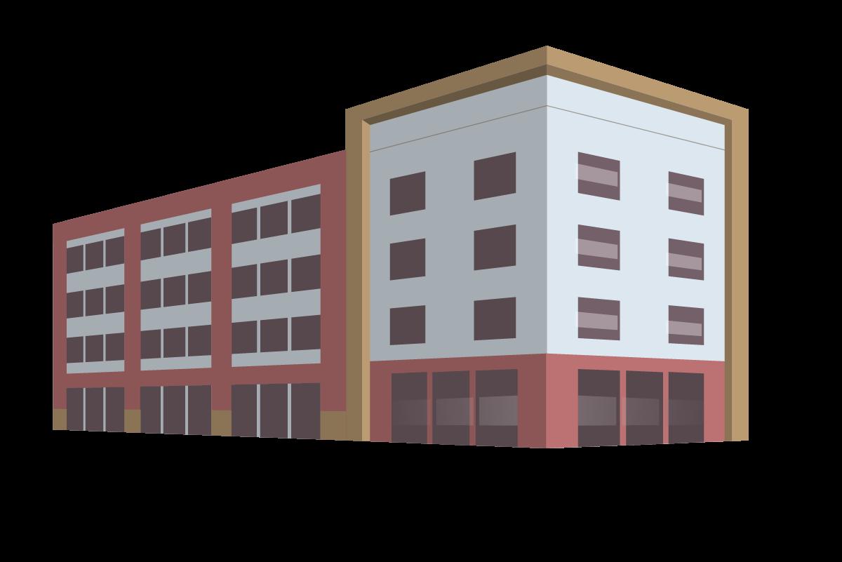 [self-storage facility illustration]