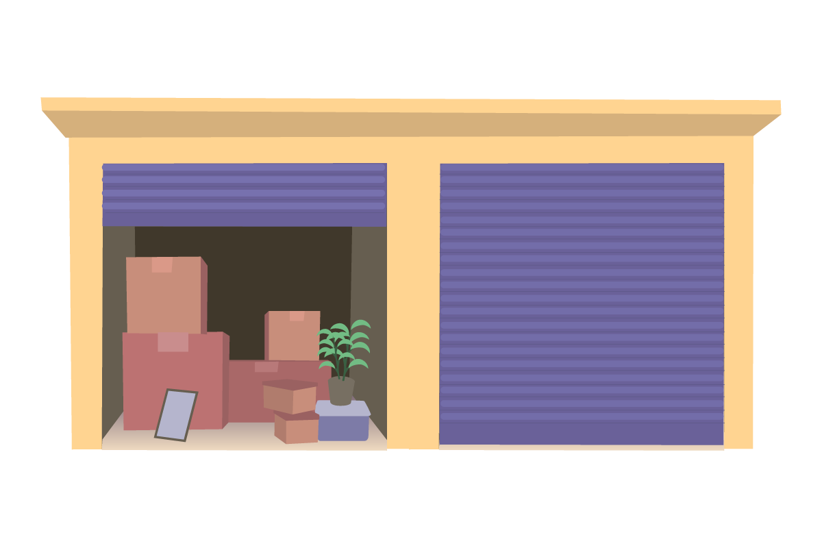 [self-storage unit illustration]