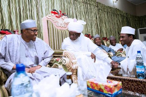 President Muhammadu buhari and Hs son yusuf