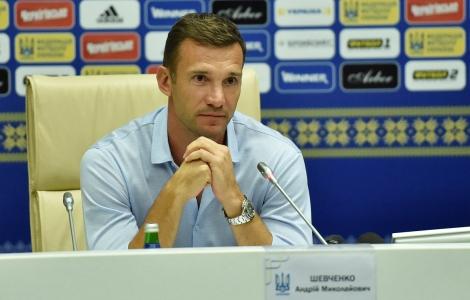 New coach of Ukraine, Andriy AShevchenko