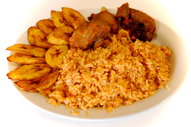 Nigeria jollof