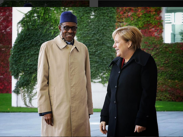 Buhari replies Aisha Buhari in Germany