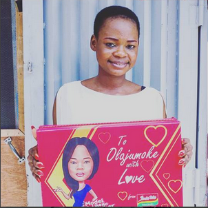 Bread seller Olajumoke