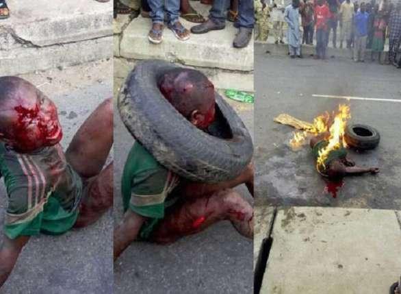 Image result for jungle justice in nigeria