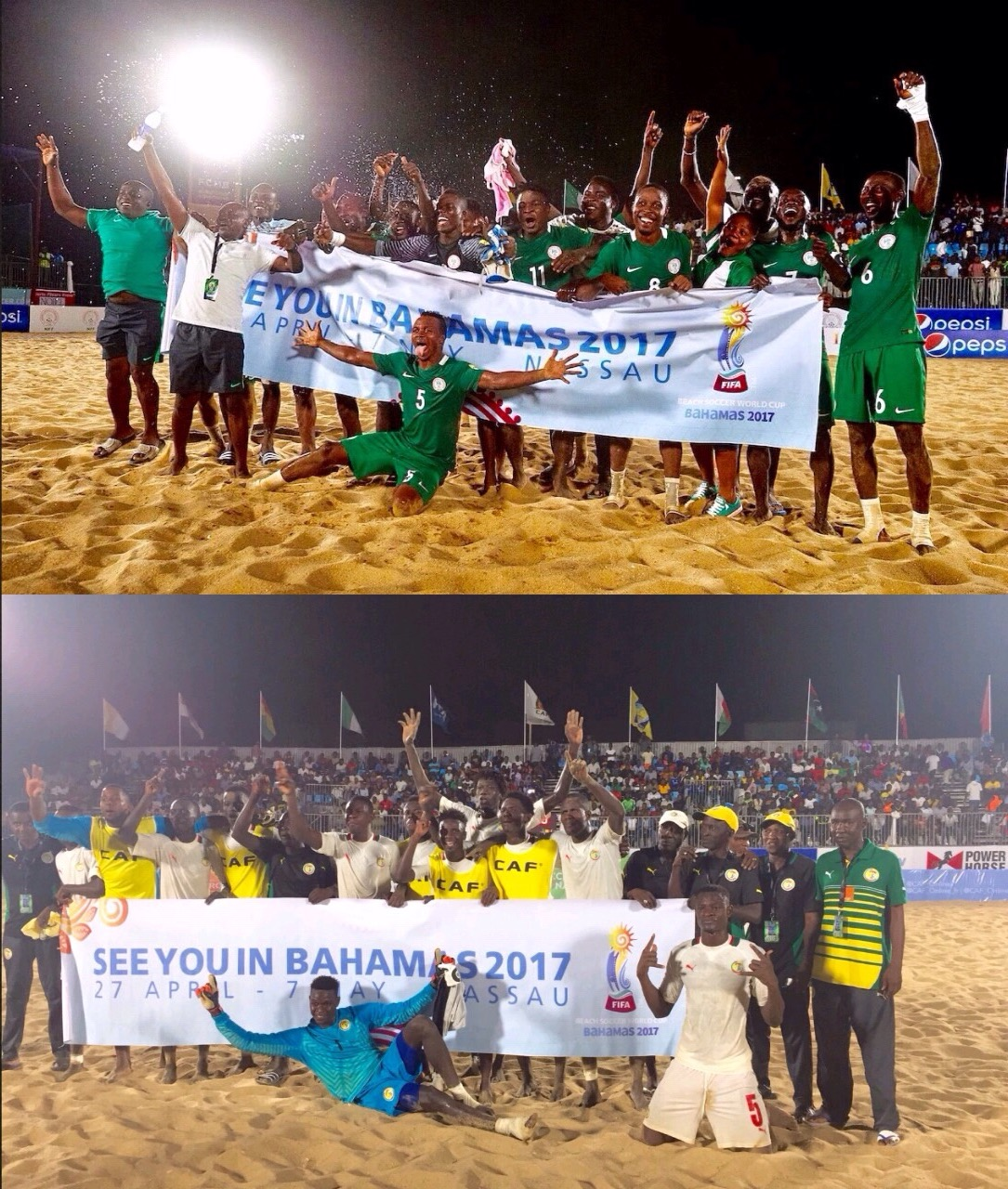 Nigeria's Super Sand Eagles