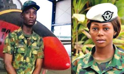 Air Force officer Solape Oladipupo murdered by lover, Kalu Benard