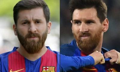 Reza and Lionel Messi