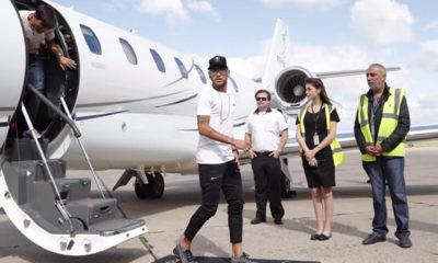 Neymar-arrives-PSG