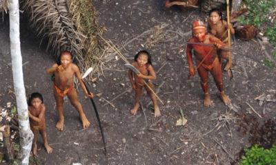 Amazon uncontacted frontier