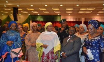 Aisha Buhari, Dolapo Osinbajo at RMNCAH+N