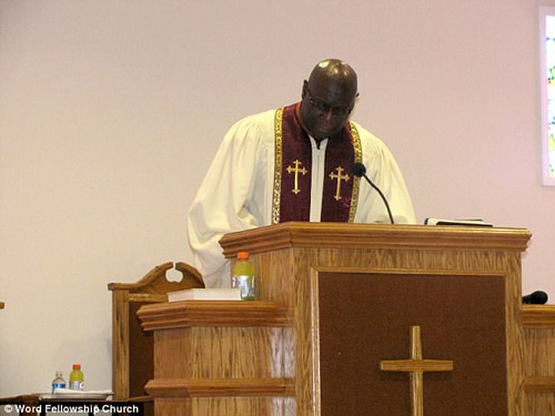 Pastor Billy Walker, Photo credit, Dailymail