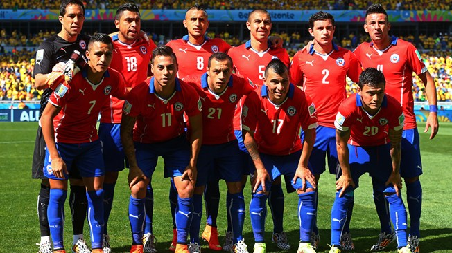 2018 World Cup: Five biggest teams that won't be in Russia ... Chilean Soccer Team 2017