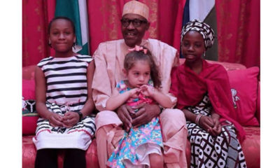 Buhari's guests at the Presidential-Villa