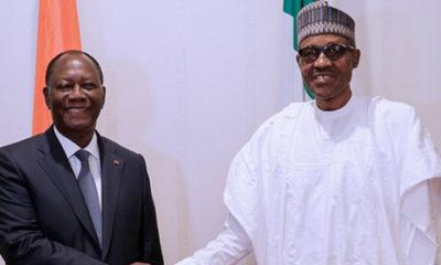 Buhari and Alassane Ouattara