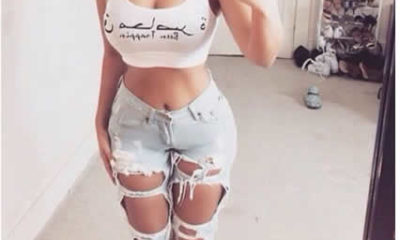 Ripped jean