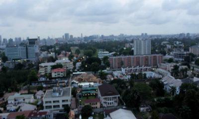 Lagos, Nigeria Skyline 6pm November 16, 2017 Wuzupnaija.com/ Temi Bamgbose