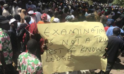 Kaduna teachers protest sacking after they were fired for incompetence