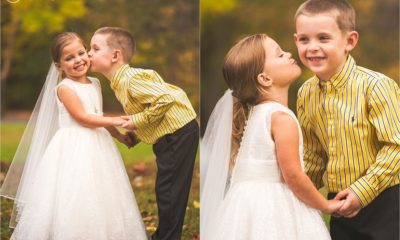 5-year-old wedding