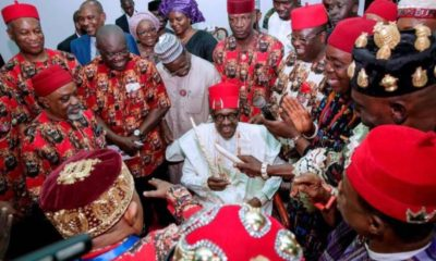 Buhari in Ebonyi