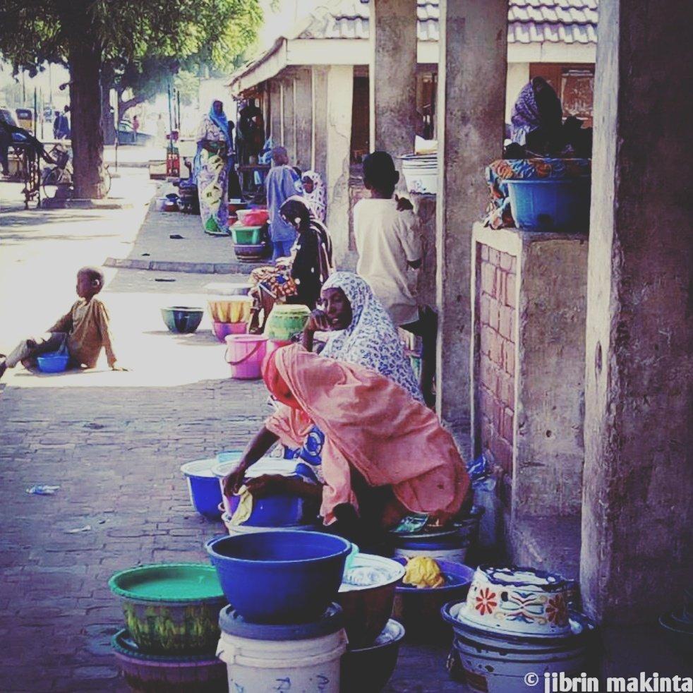 Yan Nono, they sell the popular 'Fura da Nono' in bulumkuttu along Maiduguri