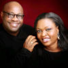 Dele Momodu and wife