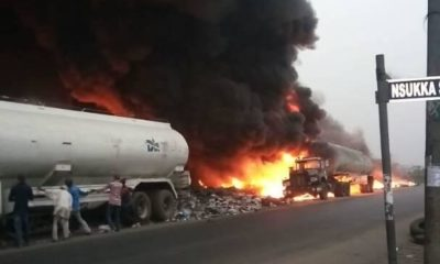 port harcourt Tanker fire accident