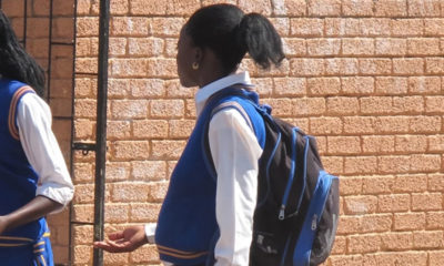Pregnant school girl