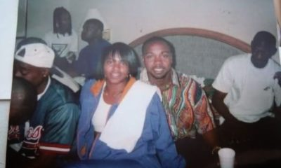 Ayanna Jackson sitting beside Tupac