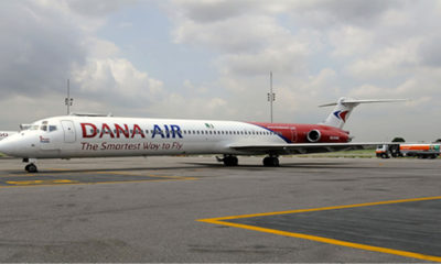 Dana airplane