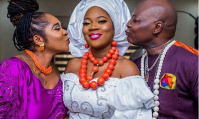 Charly Boy's daughter weds