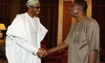 Adeboye and President Buhari