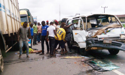 Lagos Road Crashes accidents