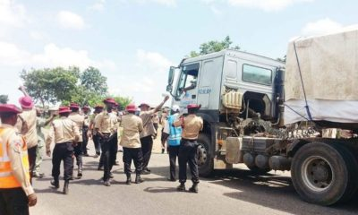 FRSC officials extorting
