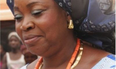 Mercy Johnson's mom