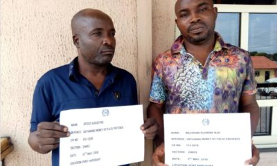 fraudsters caught by EFCC