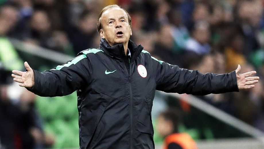 AFCON Gernot Rohr